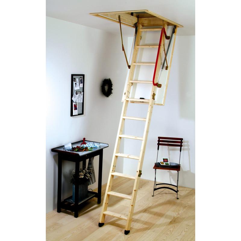 Youngman Quot Eco Quot S Line Wooden Loft Ladder